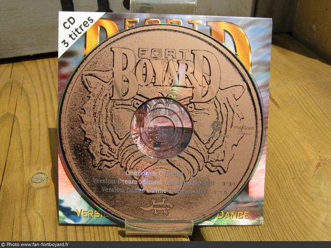 CD - Single 3 titres Fort Boyard (1996)