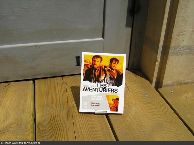 DVD - Les aventuriers avec A.Delon et L.Ventura (2007)