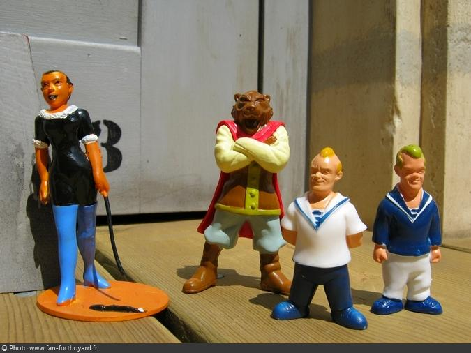 Figurines et gadgets - Collection de Flunch (2002)