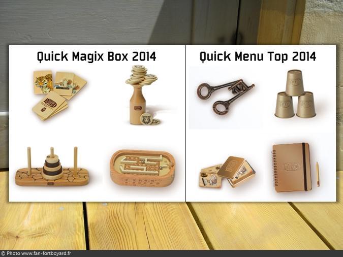 Figurines et gadgets - Collection de Quick (2014)