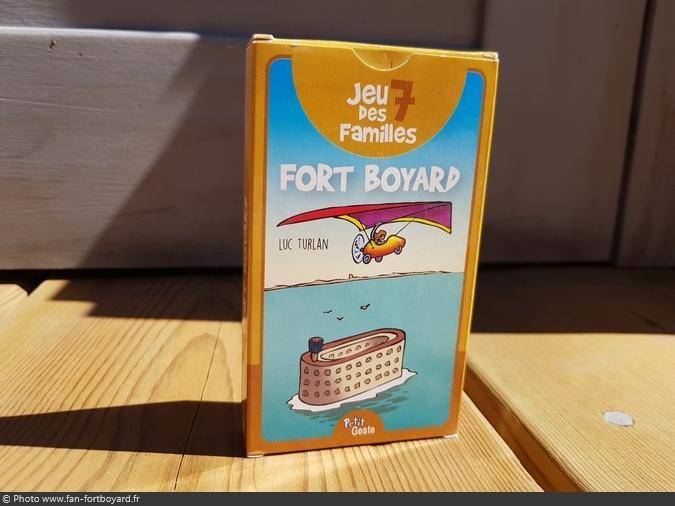 Jeu miniature - 7 familles Fort Boyard (2018)