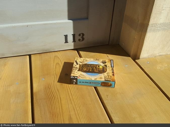 Jeu miniature - La Boîte à questions Fort Boyard (2017)