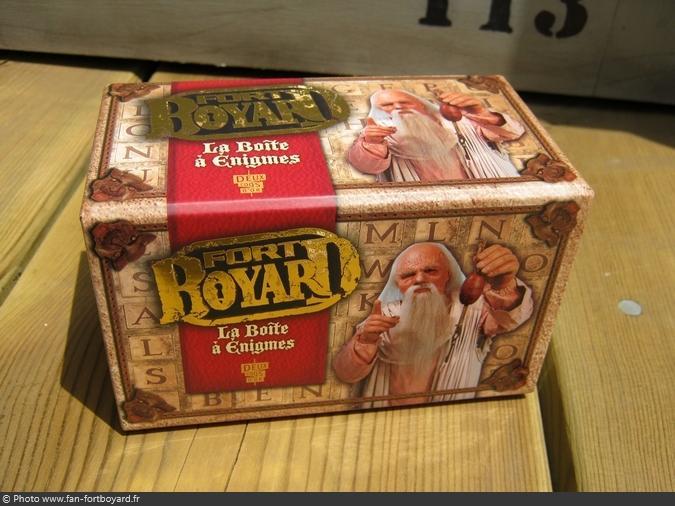 Jeu miniature - La Boîte à énigmes Fort Boyard (2010)