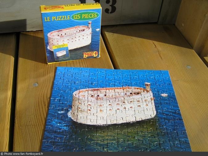 Jeu miniature - Puzzle Fort Boyard (2003)
