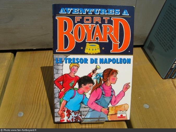 Livre-fiction - Aventures à Fort Boyard / Le trésor de Napoléon (1993)