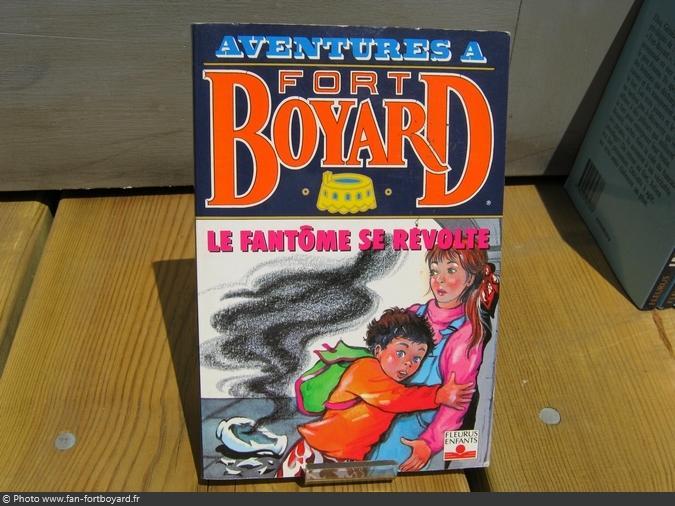 Livre-fiction - Aventures à Fort Boyard / Le fantôme se révolte (1993)