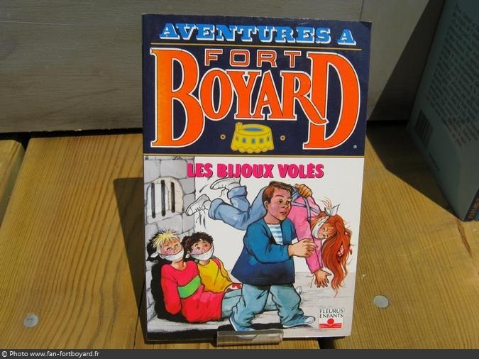 Livre-fiction - Aventures à Fort Boyard / Les bijoux volés (1993)