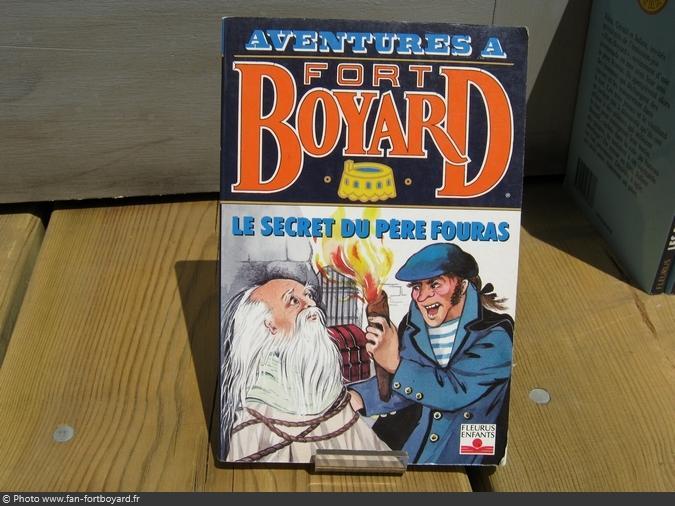 Livre-fiction - Aventures à Fort Boyard / Le secret du Père Fouras (1993)