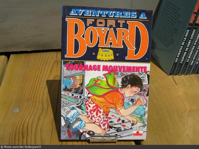 Livre-fiction - Aventures à Fort Boyard / Tournage mouvementé (1993)