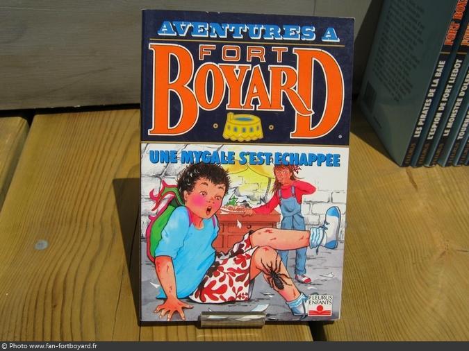 Livre-fiction - Aventures à Fort Boyard / Une mygale s'est échappée (1993)