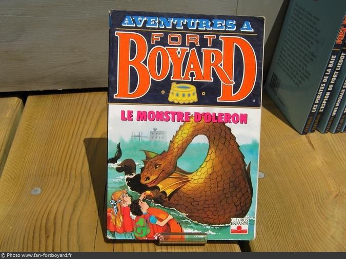 Livre-fiction - Aventures à Fort Boyard / Le monstre d'Oléron (1994)