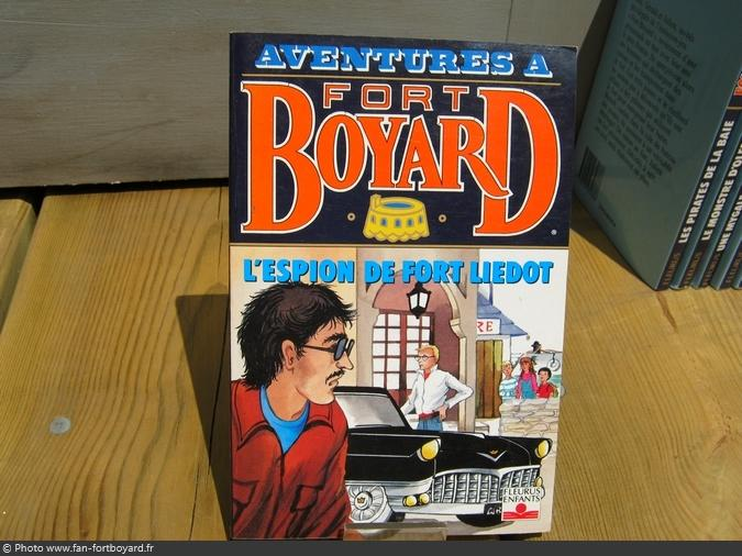 Livre-fiction - Aventures à Fort Boyard / L'espion du Fort Liédot (1994)