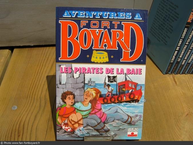 Livre-fiction - Aventures à Fort Boyard / Les pirates de la baie (1995)