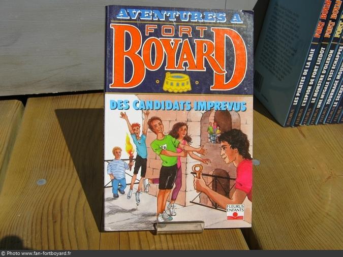 Livre-fiction - Aventures à Fort Boyard / Des candidats imprévus (1995)