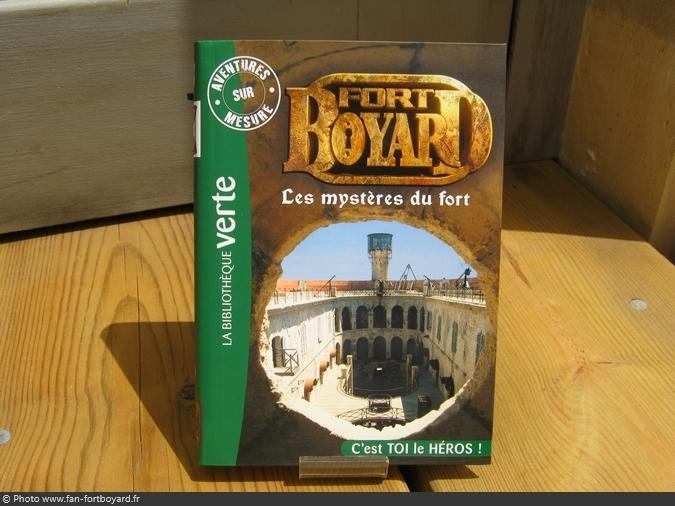Livre-fiction - Fort Boyard, les mystères du fort de D. Mitrecey (2012)