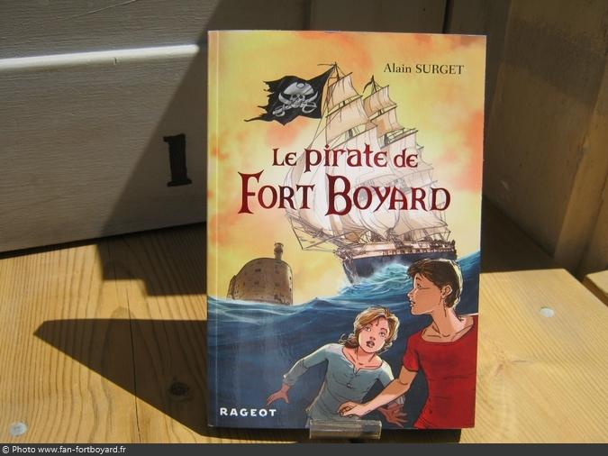 Livre-fiction - Le Pirate de Fort Boyard de A. Surget (2016)