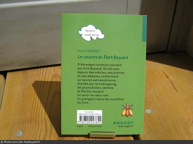 Livre-fiction - Le secret de Fort Boyard de A. Surget (2015)