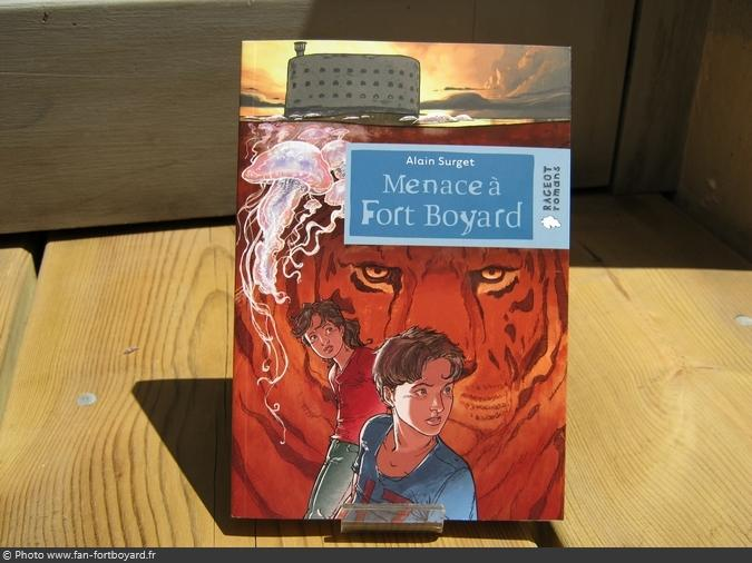 Livre-fiction - Menace à Fort Boyard de A. Surget (2011)