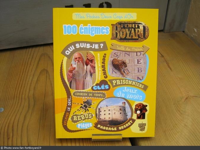 Livre-jeu - 100 énigmes Fort Boyard (2012)
