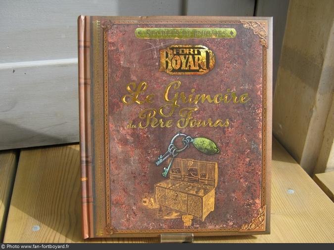 Livre Jeu Fort Boyard Le Grimoire Du Pere Fouras 2013
