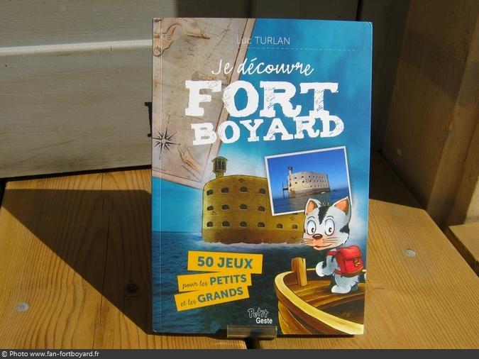 Livre-jeu - Je découvre Fort Boyard : 50 jeux... de L. Turlan (2014)