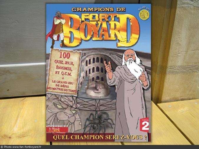 Magazine - Champions de Fort Boyard n°1 (2008)
