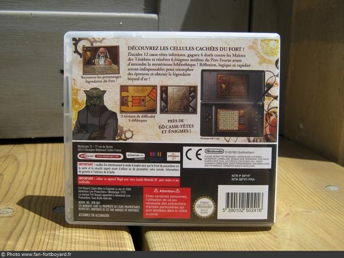 Jeu Nintendo DS - Fort Boyard, casse-têtes et énigmes (2009)
