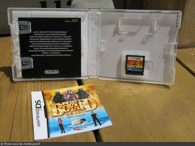 jeu nintendo ds fort boyard le jeu 2008. Black Bedroom Furniture Sets. Home Design Ideas