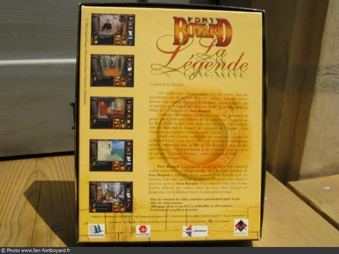 Jeu PC - Fort Boyard La Légende (1996)