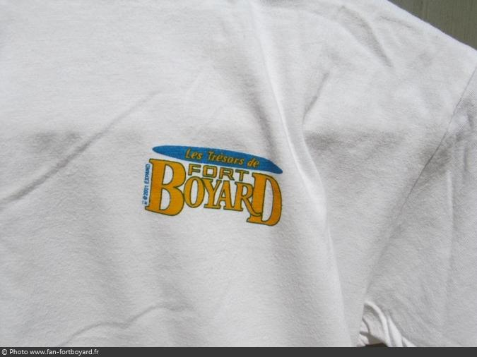Vêtement - Tee-shirt Les trésors de Fort Boyard (2001)