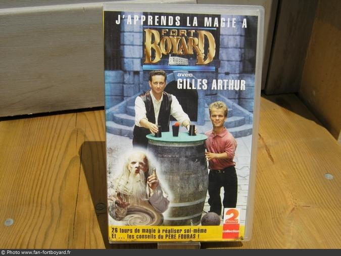 VHS - J'apprends la magie à Fort Boyard avec Gilles Arthur (1994)