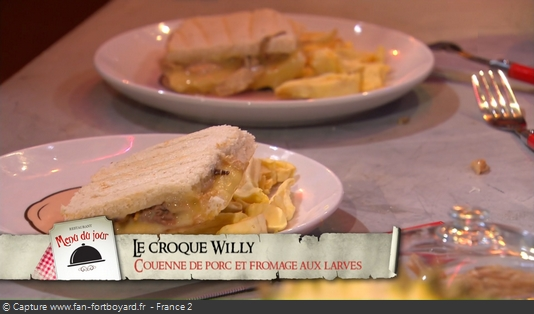 Fort Boyard - Chez Willy Rovelli - Croque-Willy