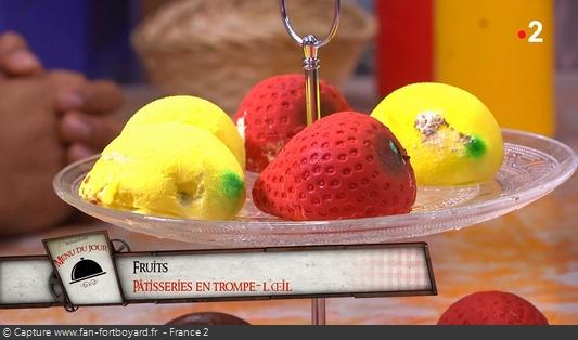 Fort Boyard - Chez Willy Rovelli - Fruits en trompe-l'oeil
