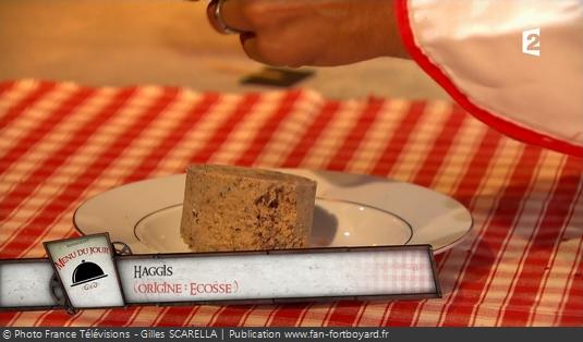 Fort Boyard - Chez Willy Rovelli - Haggis