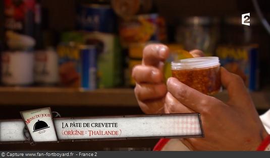 Fort Boyard - Chez Willy Rovelli - Pâte de crevettes
