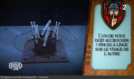 Fort Boyard - Roi du silence - Pince à linge