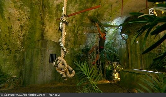 Fort Boyard - Salle des tortures/Jungle (2013 à 2016 avec le filet)