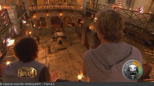 La magie de la Salle du Trésor de nuit dans les émissions de 2012