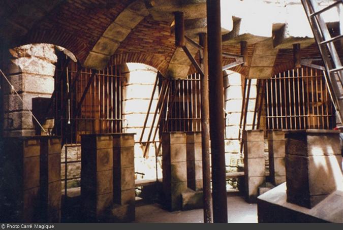 La Salle du Trésor de 1990 prête pour les premiers tournages