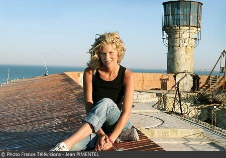 Fort Boyard - Sarah Lelouch en 2005