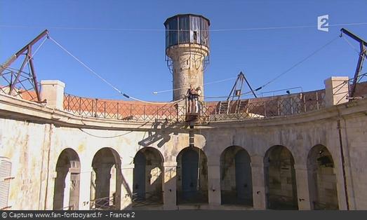 Fort Boyard - Saut intérieur