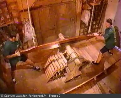 Fort Boyard - Scie (cellule 120 - 1999)