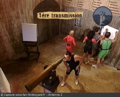 Fort Boyard - Sémaphore - Décryptage du code (cellule 110)
