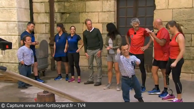 Fort boyard suede 2014 personnages groupe1