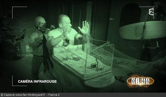 Fort Boyard - Train fantôme (intérieur en 2016)
