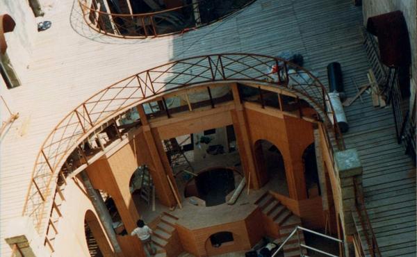 Aménagements de 1990 / La Salle du Trésor