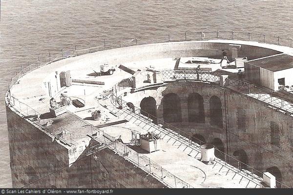 Restauration de 1996 / Vue de la zone des travaux