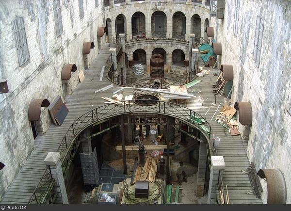 Les travaux du Fort Boyard