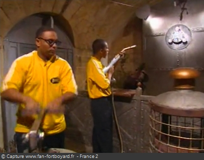 Fort Boyard - Tromblon