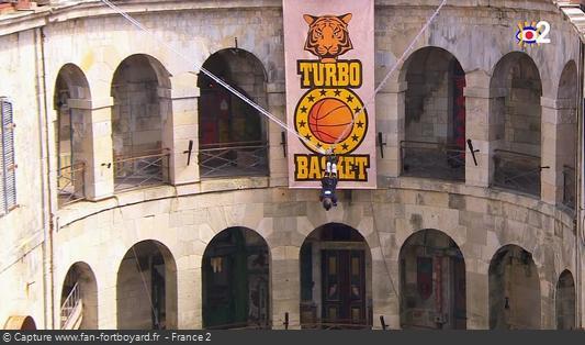 Fort Boyard - Turbo Basket (départ)